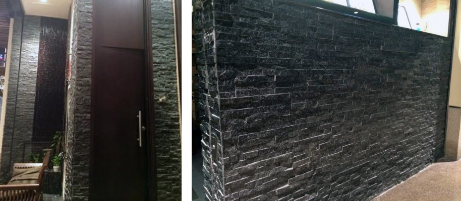Introducing Black Quartzite Split Face Wall Cladding
