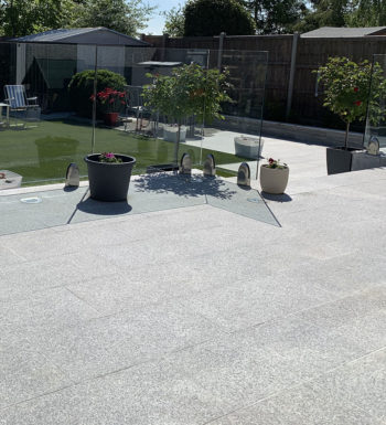 Silver Grey Granite Paving 600x900