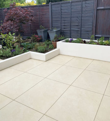 Ivory Porcelain Paving