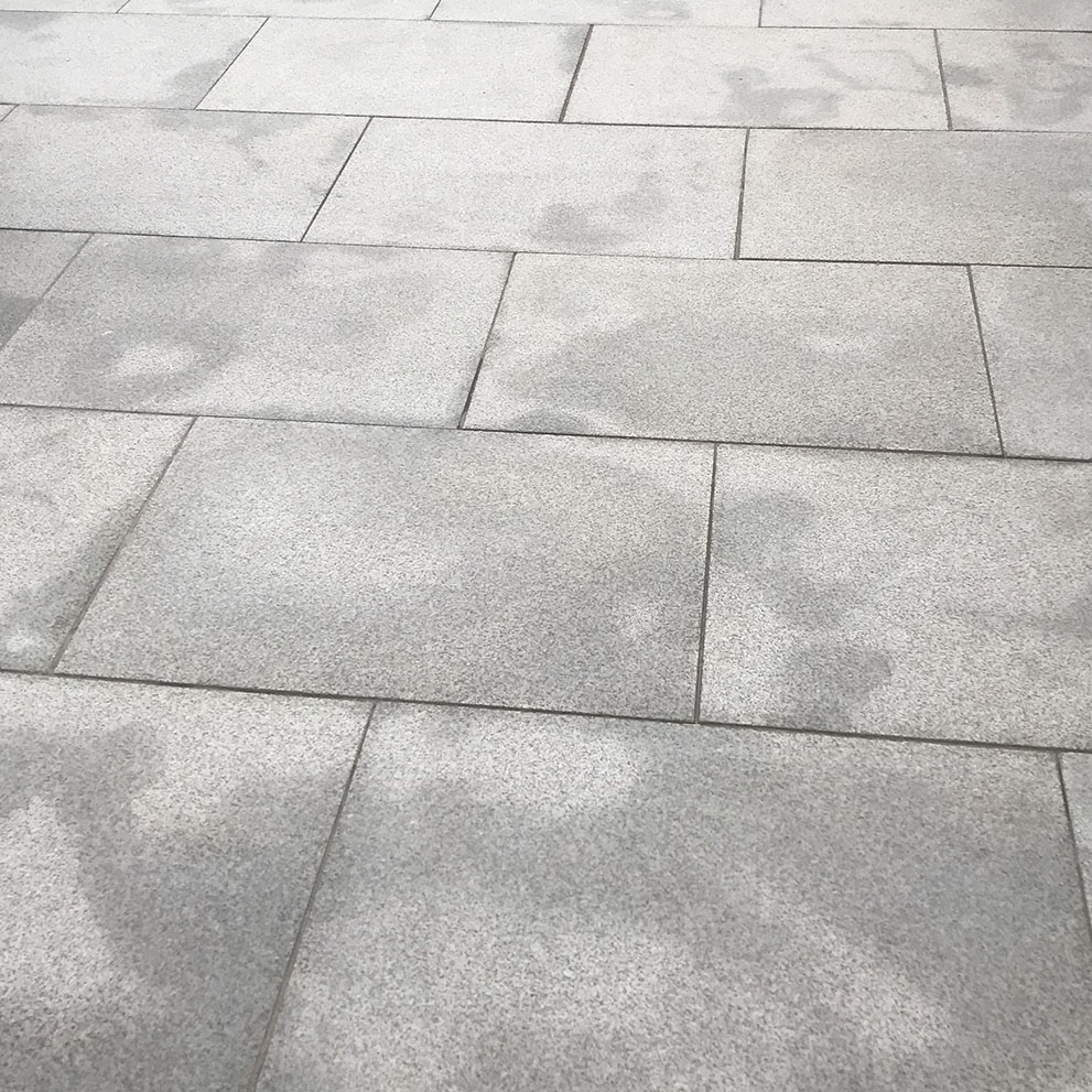Granite Paving Patches